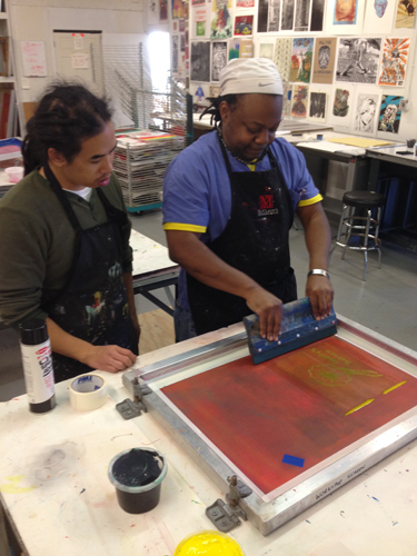 Supergraphic print specialist Raj Bunnag spreading the Gospel of Print.
